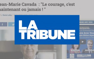 """Jean-Marie Cavada  : """"Le courage, c'est maintenant ou jamais ! """""""
