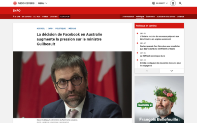 La décision de Facebook en Australie augmente la pression sur le ministre Guilbeault – Radio Canada