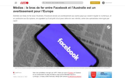 Médias : le bras de fer entre Facebook et l'Australie est un avertissement pour l'Europe – Ouest France