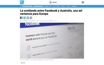 La contienda entre Facebook y Australia, una advertencia para Europa – France24