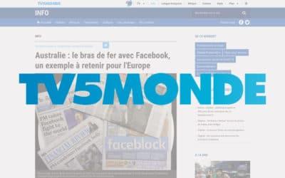 Australie : le bras de fer avec Facebook, un exemple à retenir pour l'Europe – TV5Monde