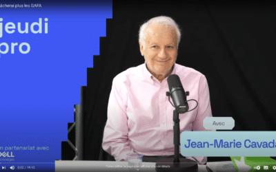 "Jean-Marie Cavada : les Gafam, ""je ne les lâcherai plus"""