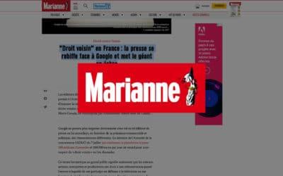 """""""Droit voisin"""" en France: la presse se rebiffe face à Google et met le géant en échec  – Marianne"""
