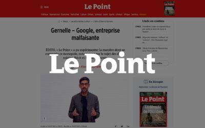 Google, entreprise malfaisante – Le Point