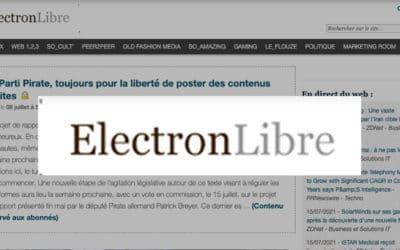Le Parti Pirate, toujours pour la liberté de poster des contenus illicites – ElectronLibre